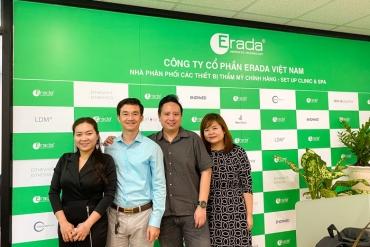 Album Nhà sản xuất EstheWhite & EstheShield chúc tết tại văn phòng Erada Việt Nam | T1/2020