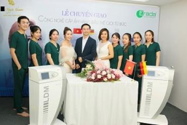 Album Chuyển giao công nghệ cấp ẩm giọt nước LDM cho Thảo Nguyên Skin Care