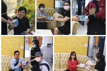Erada phát 500 hộp khẩu trang miễn phí phòng ngừa dịch virus Corona
