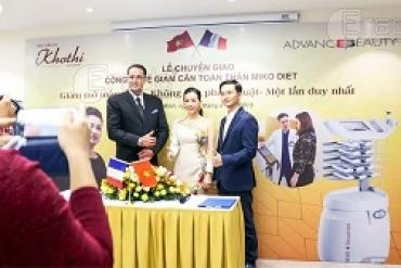 Album Chuyển giao công nghệ siêu giảm béo News Sequential cho VTM Khơ Thị