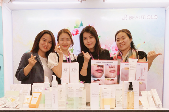 Mỹ phẩm hữu cơ cao cấp Hàn Quốc Beautiqlo do Erada nhập khẩu thu hút lượng lớn khách hàng ghé thăm tại VIPREMIUM 2019