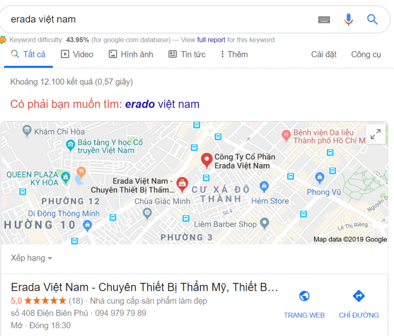 google_map_erada_viet_nam_marketign_spa